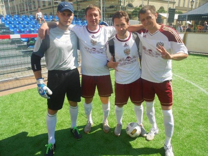 Победа в чемпионате Европы по уличному футболу 2013